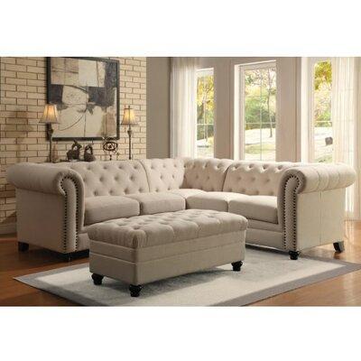 Vanallen Sectional Upholstery: Oatmeal