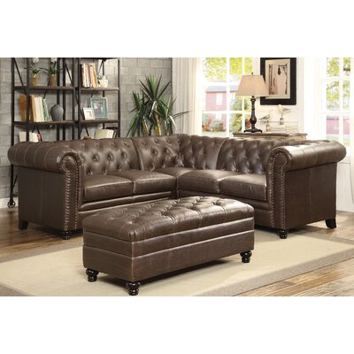 Darby Home Co DBYH3821 Halifax Sectional Upholstery