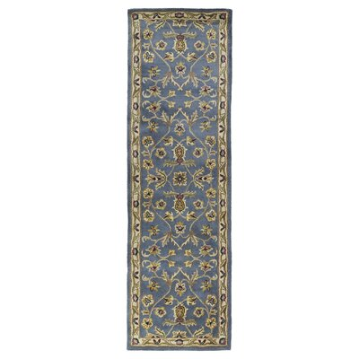 Fogleman William Garden Blue Area Rug Rug Size: Runner 23 x 79
