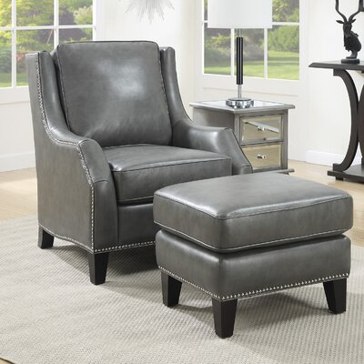 Lamontagne Club Chair and Ottoman