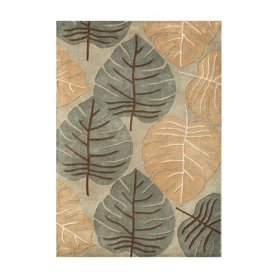 Henley Hand-Tufted Curry Area Rug Rug Size: 5 x 8