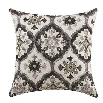 Jackson Throw Pillow Color: Gray/Black/White