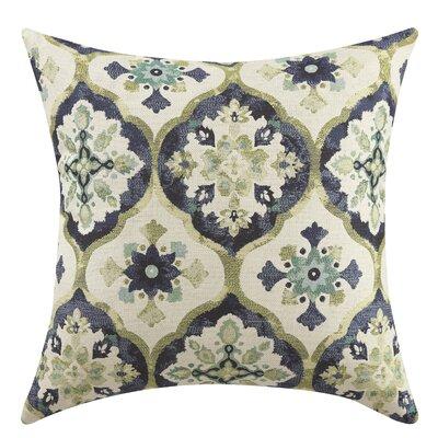 Jackson Throw Pillow Color: Blue/Green