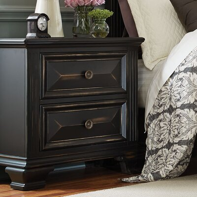 Petronella 2 Drawer Nightstand
