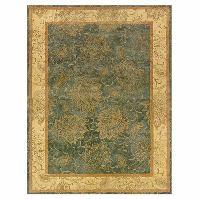Elkhart Hand-Tufted Gray/Beige Area Rug Rug Size: Rectangle 93 x 133