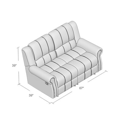 Hilliker Reclining Loveseat