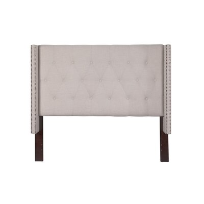 Birchwood Queen Upholstered Wingback Headboard