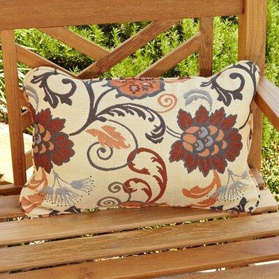 Elita Outdoor Sunbrella Lumbar Pillow Size: 13 H x 20 W