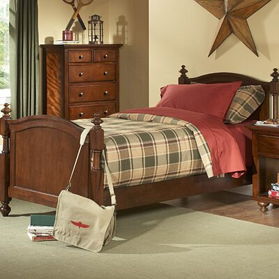 Dunrobin Panel Bed Size: California King