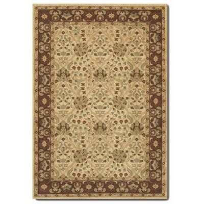 Blumenthal Latte/Chocolate Area Rug Rug Size: Rectangle 53 x 76