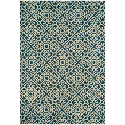Union Hand-Knotted Indoor/Outdoor Area Rug Rug Size: Rectangle 36 x 56