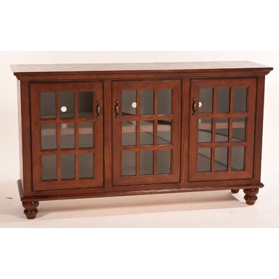 Franson 65 TV Stand Color: Medium Oak