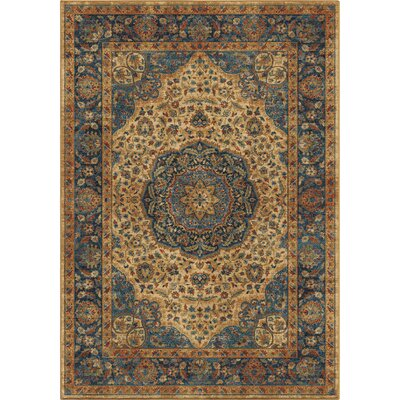 Lilah Beige/Red Area Rug Rug Size: 710 x 1010