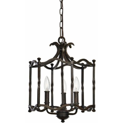 Lippold 3-Light Foyer Pendant