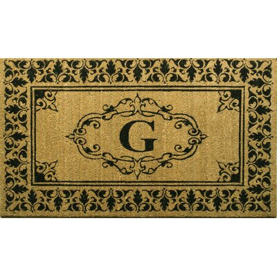 Awilda Letter Doormat Mat Size: 26 x 4, Letter: G