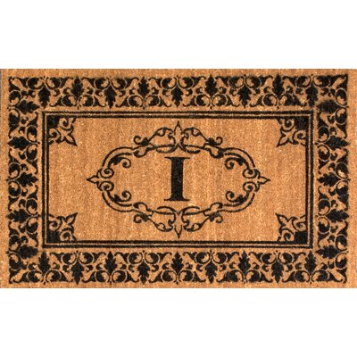 Llewellyn Letter Doormat Rug Size: 3 x 6, Letter: I