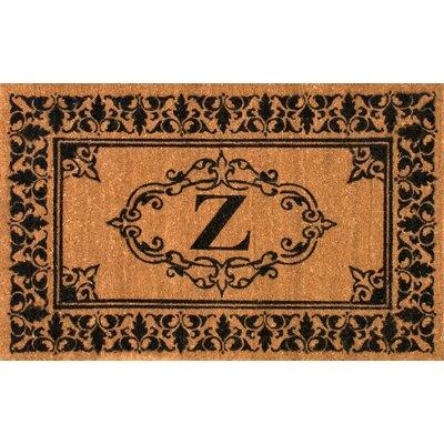 Awilda Letter Doormat Rug Size: 26 x 4, Letter: Z