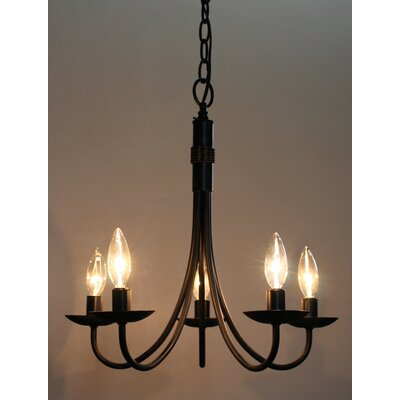Gavin 5-Light Candle-Style Chandelier