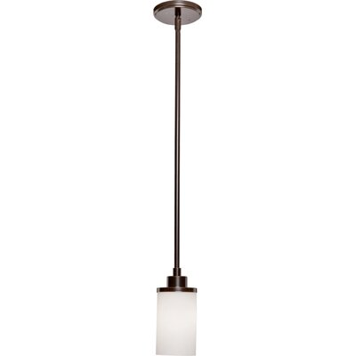 Gerald 1-Light Pendant Finish: Oil Bronze