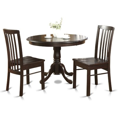Bonenfant 3 Piece Bistro Set Finish: Cappuccino
