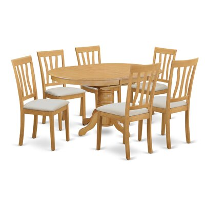 Attamore 7 Piece Dining Set Finish: Oak