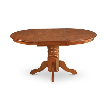 Attamore Extendable Dining Table Finish: Saddle Brown