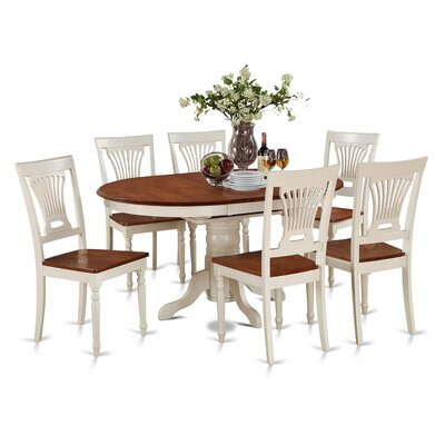 Attamore 7 Piece Dining Set Finish: Buttermilk