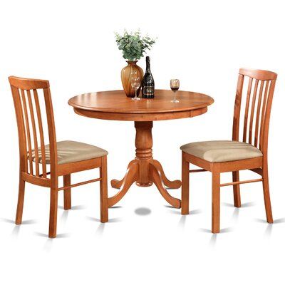 Bonenfant 3 Piece Dining Set Finish: Cherry
