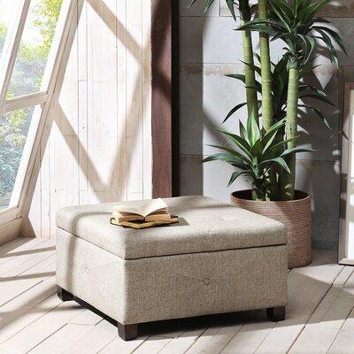 Bantom Ottoman Upholstery Color: Beige
