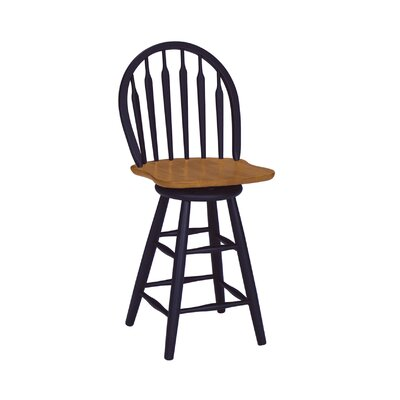 Barberton 24.75 Swivel Bar Stool
