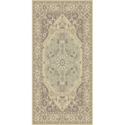 Bargamin Classic Grey/Mocha Area Rug Rug size: Rectangle 8 x 11