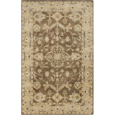 Barkbridge Beige/Moss Oriental Rug Rug Size: Rectangle 9 x 13