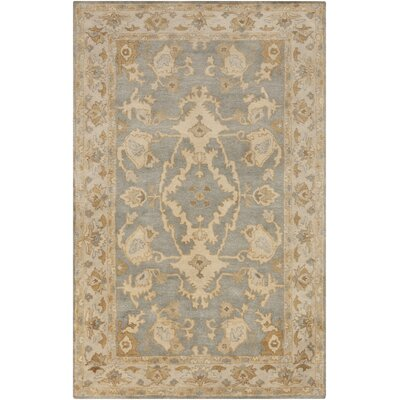Barkbridge Beige/Gold Tibetan Rug Rug Size: Rectangle 5 x 76