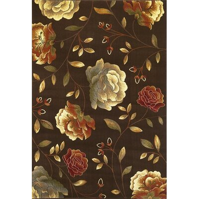 Lovejoy Beige Vines Area Rug Rug Size: 53 x 83