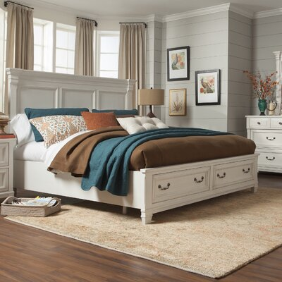 Randolph Storage Platform Bed Size: King