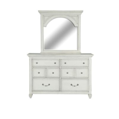 Wilburn 6 Drawer Dresser with Mirror