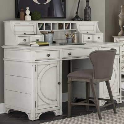 Wilburn Executive desk with Hutch