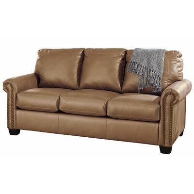 Alper DuraBlend Full Sleeper Sofa Upholstery: Almond
