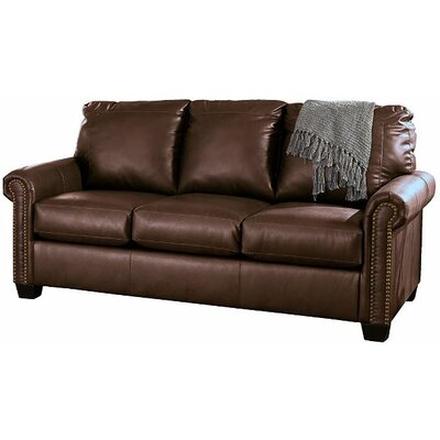 Alper DuraBlend Full Sleeper Sofa Upholstery: Chocolate