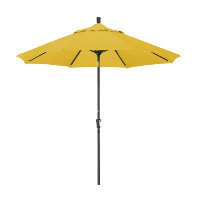 9 Market Umbrella Fabric: Sunbrella - Sunflower Yellow