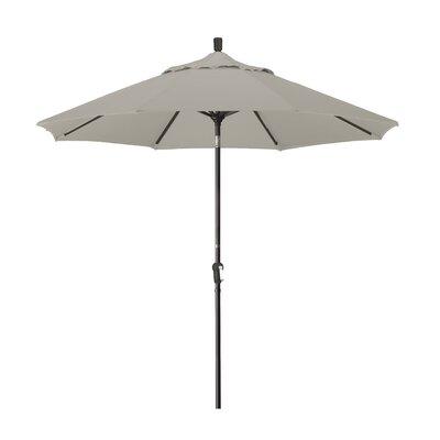 9 Market Umbrella Fabric: Sunbrella - Taupe