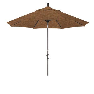 9 Market Umbrella Fabric: Sunbrella - Elan Teak