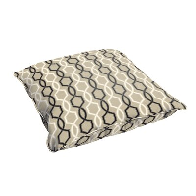 Bank Indoor/Outdoor Floor Pillow