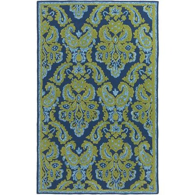Bellville Forest/Sky Blue Indoor/Outdoor Area Rug Rug Size: Rectangle 5 x 76