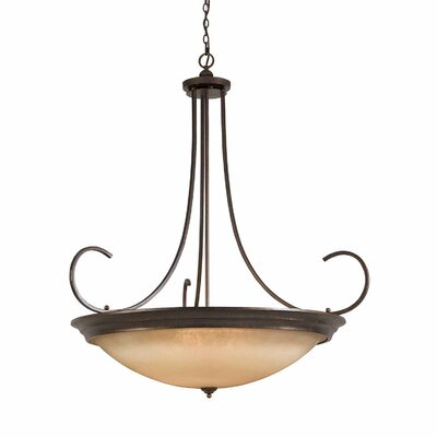 Edgecomb 12-Light Inverted Pendant