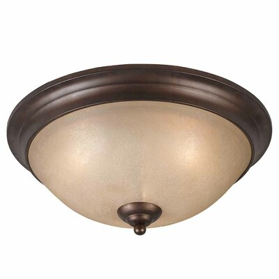 Edgewater 3-Light Flush Mount