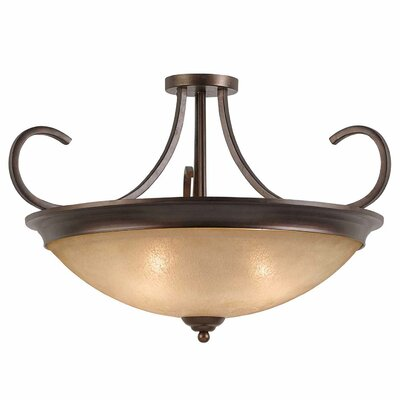 Edgewater 4-Light Semi Flush Mount