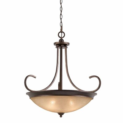 Edgewater 4-Light Bowl Pendant