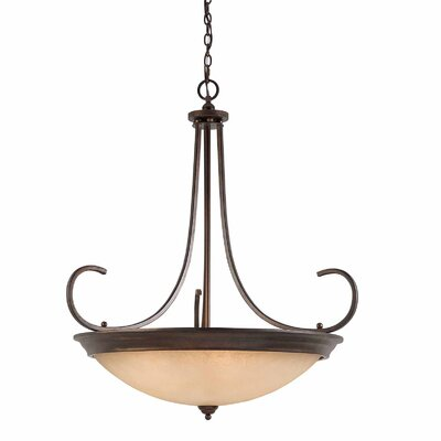Edgewater 10-Light Bowl Pendant