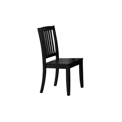 Stroupe Solid Wood Dining Chair Finish: Ebony